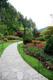 De tuinen van Butchart Royalty-vrije Stock Afbeeldingen