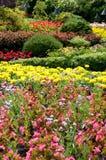 De Tuinen van Butchart - de Gedaalde mening van de Tuin Stock Foto's