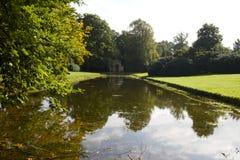 De tuinen van het Beltonhuis stock foto