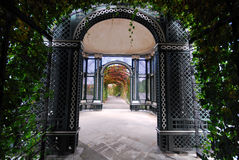 De Tuinen van het Paleis van Schonbrunn, Royalty-vrije Stock Foto