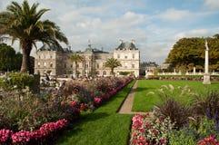 De Tuinen van Luxemburg in Parijs Stock Afbeelding