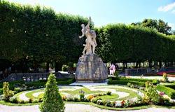 De tuinen van Mirabell royalty-vrije stock fotografie