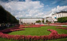 De tuinen van Mirabell royalty-vrije stock afbeelding