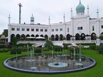 De Tuinen van Tivoli, Kopenhagen Denemarken Royalty-vrije Stock Foto