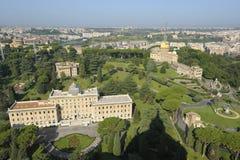 De Tuinen van Vatikaan royalty-vrije stock foto's