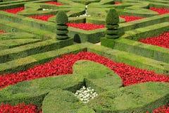 De tuinen van Villandry, Frankrijk Stock Fotografie
