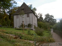 De tuinhuis van Goethe op Ilm Royalty-vrije Stock Afbeelding
