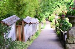 De tuinlandschap van Butchart Stock Afbeelding