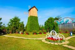 De Tuinpark van de Dalatbloem, Vietnam Royalty-vrije Stock Fotografie