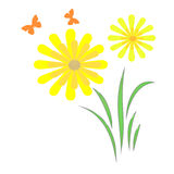 De tuinsamenvatting van de lente Royalty-vrije Stock Afbeelding