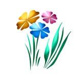 De tuinsamenvatting van de lente Stock Illustratie