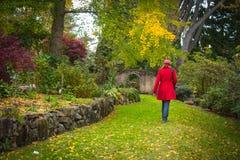 De tuinweg Stock Afbeeldingen