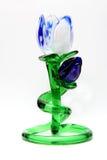 De tulpenbloem van het glas Stock Foto
