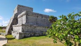 De Tulum-ruïnes, Mexico Stock Afbeeldingen