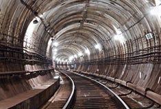 De Tunnel NYC van de metro Kiev, de Oekraïne Kyiv, de Oekraïne Royalty-vrije Stock Foto
