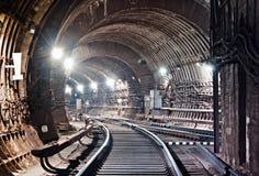 De Tunnel NYC van de metro Kiev, de Oekraïne Kyiv, de Oekraïne Royalty-vrije Stock Foto's