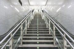 De Tunnel NYC van de metro royalty-vrije stock foto