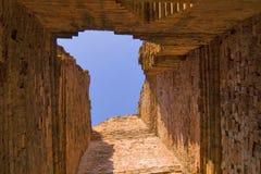 De tunnel van de baksteen Royalty-vrije Stock Foto