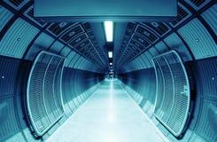 De tunnel van de cilinder Stock Foto's