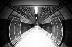 De tunnel van de cilinder Royalty-vrije Stock Afbeeldingen