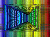 De tunnel van de kubus Royalty-vrije Stock Afbeelding