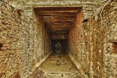 De tunnel van de mijn Royalty-vrije Stock Foto