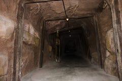 De tunnel van de mijn royalty-vrije stock fotografie