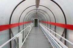 De tunnel van de overgang. Stock Afbeelding