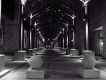 De tunnel van de pijler Stock Afbeelding