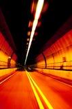 De tunnel van de pop-kunst stock afbeelding