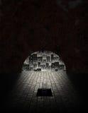 De Tunnel van de stad Royalty-vrije Stock Foto