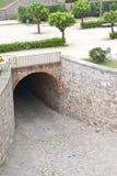 De tunnel van de steen Stock Afbeeldingen