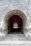 De tunnel van de steen in Shenyang Verboden Stad Stock Afbeelding