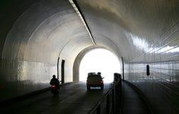De Tunnel van de straat stock foto's