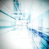 De tunnel van de technologie Stock Fotografie