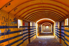 De Tunnel van de tijd Stock Fotografie