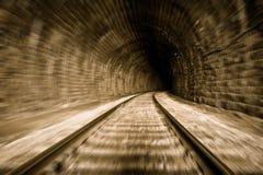 De tunnel van de trein Royalty-vrije Stock Afbeeldingen