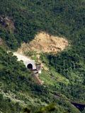 De Tunnel van de Trein van de wildernis Royalty-vrije Stock Foto
