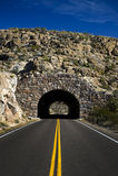 De tunnel van de weg Stock Fotografie