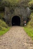 De Tunnel van de fietssleep Royalty-vrije Stock Afbeeldingen