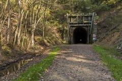 De Tunnel van de fietssleep Royalty-vrije Stock Foto's