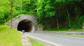 De Tunnel van Gatlinburg Stock Foto's
