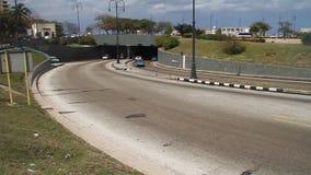 De tunnel van Havana, Cuba stock video