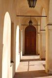 De tunnel van het kasteel Royalty-vrije Stock Foto's