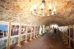De tunnel van het kasteel Royalty-vrije Stock Foto
