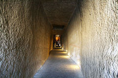 De tunnel van het kasteel stock afbeelding