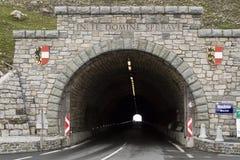 De Tunnel van Hochtor royalty-vrije stock foto's