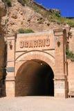 De tunnel van Ogarrio Royalty-vrije Stock Afbeeldingen