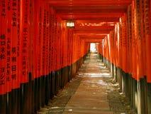 De tunnel van poorten
