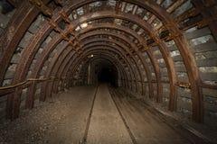 De tunnels in Owl Mountains - Polen Stock Afbeeldingen